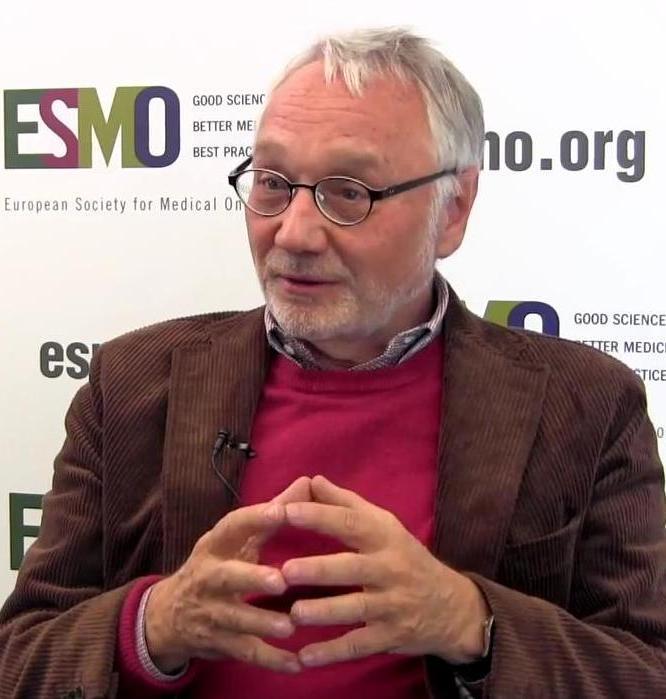 Rolf A. Stahel, az ESMO elnöke