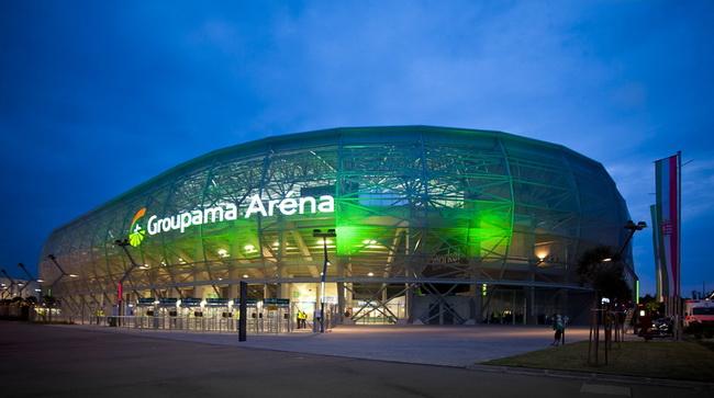 Groupama Aréna, az MKOT IX. Kongresszus helyszíne