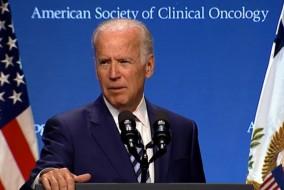 Joe Biden, az USA alelnöke az ASCO kongresszuson